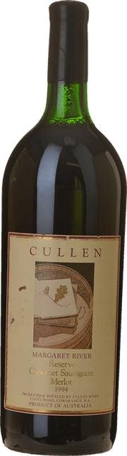 CULLEN WINES Reserve Cabernet Merlot, Margaret River 1994