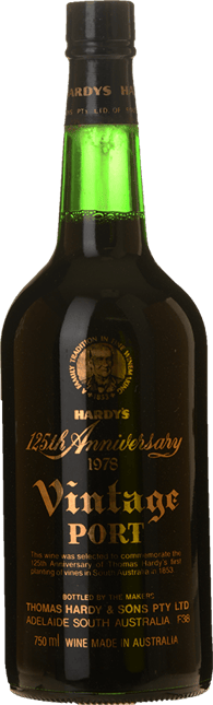HARDY'S 125th Anniversary Vintage Port, Barossa Valley 1978