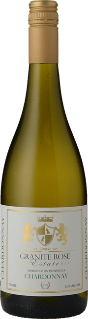 GRANITE ROSE ESTATE Chardonnay, Mornington Peninsula 2017
