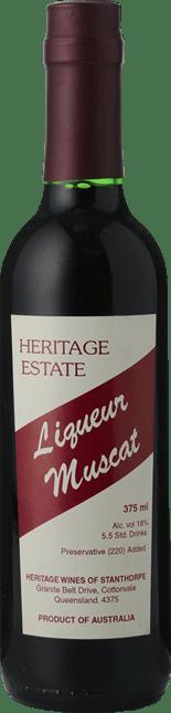 HERITAGE ESTATE Liqueur Muscat Muscat, Granite Belt NV