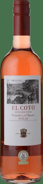 EL COTO DE RIOJA  Rosado, La Rioja DOCa 2016