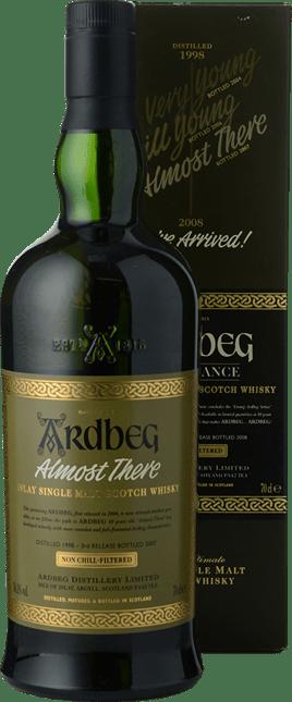 ARDBEG Almost There Single Malt Scotch Whisky 54.1% ABV, Islay NV