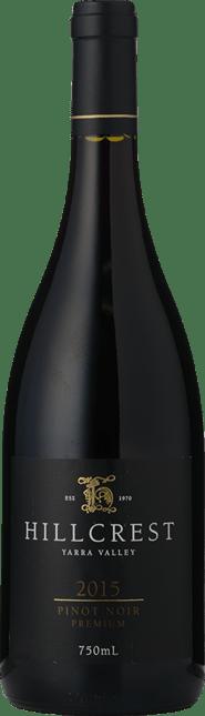 HILLCREST VINEYARDS Premium Pinot Noir, Yarra Valley 2015
