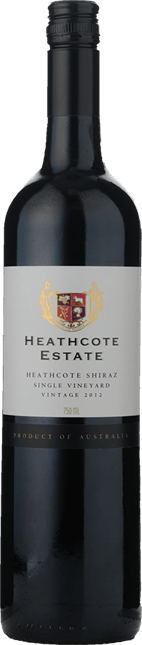 HEATHCOTE ESTATE Single Vineyard Shiraz, Heathcote 2012