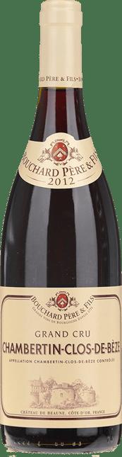 BOUCHARD PERE & FILS Grand Cru , Chambertin-Clos de Beze  2012