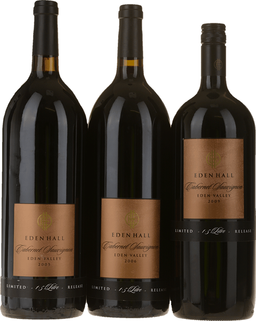 EDEN HALL Block 3 Cabernet 3 Magnum Set, Eden Valley MV