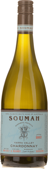 SOUMAH U. Ngumby Single Vineyard Chardonnay, Yarra Valley 2017