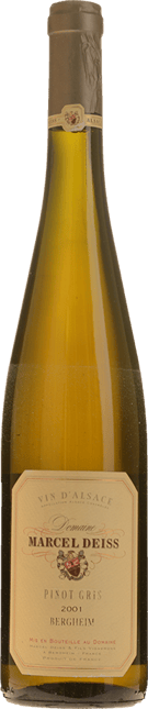 DOMAINE MARCEL DEISS Bergheim Pinot Gris, Alsace 2001