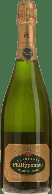 PHILIPPONNAT Reserve Millesimee Brut, Champagne 2000