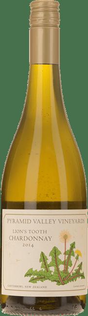 PYRAMID VALLEY VINEYARDS Lion's Tooth Chardonnay, Canterbury 2014