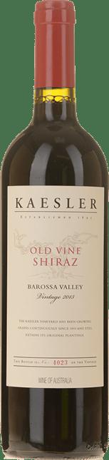 KAESLER WINES Old Vine Shiraz, Barossa Valley 2013