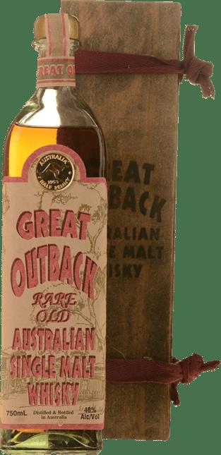 CAWSEY MENCK Great Outback Rare Old 40% ABV Single Malt Whisky, Australia NV