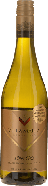 VILLA MARIA Cellar Selection Pinot Gris, Marlborough 2017