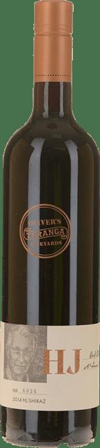 OLIVER'S TARANGA VINEYARDS HJ Reserve Shiraz, McLaren Vale 2014