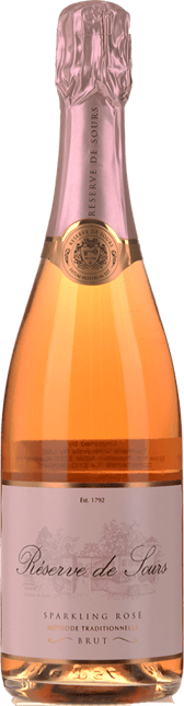 CHATEAU DE SOURS Reserve Sparkling Rose, Bordeaux NV