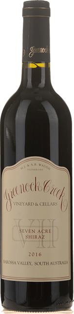 GREENOCK CREEK Seven Acre Shiraz, Barossa Valley 2016