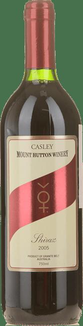 CASLEY MOUNT HUTTON WINERY Shiraz, Granite Belt 2005