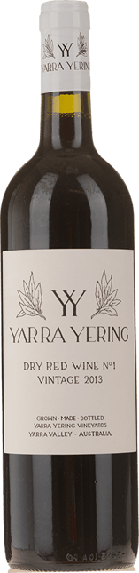 YARRA YERING Dry Red Wine No.1 Cabernets, Yarra Valley 2013