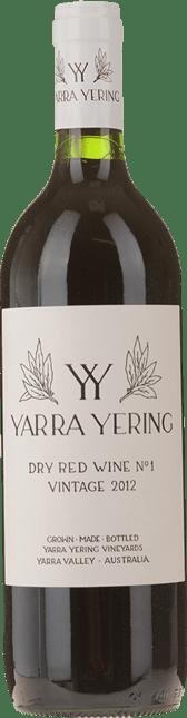 YARRA YERING Dry Red Wine No.1 Cabernets, Yarra Valley 2012