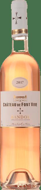 CHATEAU DE FONT VIVE Rose, Bandol 2017