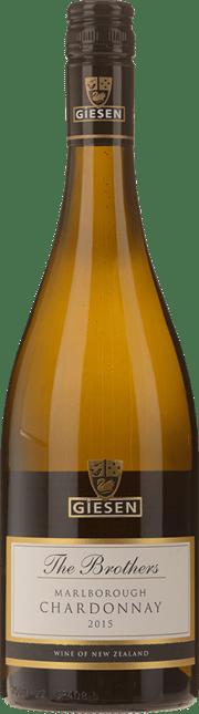 GIESEN ESTATE WINES The Brothers Chardonnay, Marlborough 2015