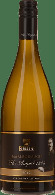 GIESEN ESTATE WINES The August 1888 Sauvignon Blanc, Marlborough 2012