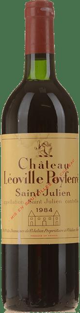 CHATEAU LEOVILLE-POYFERRE 2me cru classe, St-Julien 1984