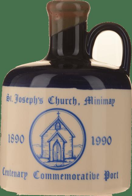 ST. GREGORY'S VINEYARDS St. Joseph's Church Centenary Commemorative Port, Victoria NV