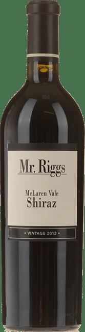 MR. RIGGS Shiraz, McLaren Vale 2013