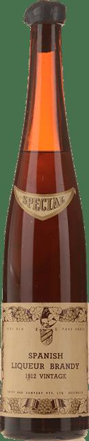 SWIFT AND COMPANY Spanish Liqueur Brandy, Spain 1912