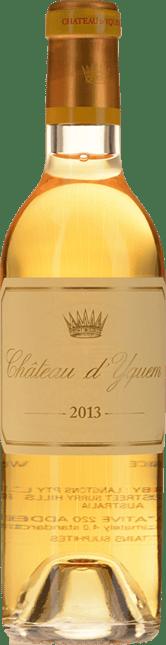 CHATEAU D'YQUEM 1er cru superieur, Sauternes 2013