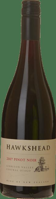 HAWKSHEAD VINEYARD Gibbston Pinot Noir, Central Otago 2007