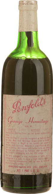 PENFOLDS Bin 95--Grange Shiraz, South Australia 1966