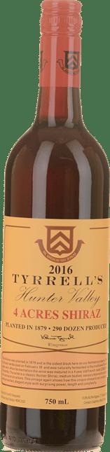 TYRRELL'S 4 Acres Shiraz, Hunter Valley 2016