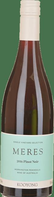 KOOYONG WINES Meres Pinot Noir, Mornington Peninsula 2016