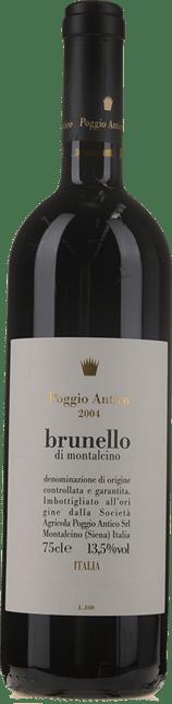 POGGIO ANTICO, Brunello di Montalcino 2004