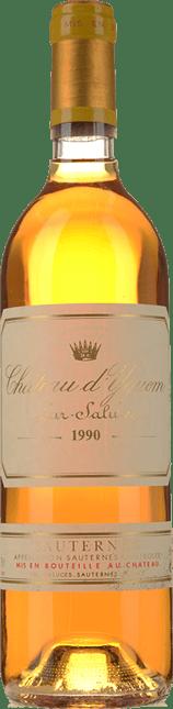 CHATEAU D'YQUEM 1er cru superieur, Sauternes 1990