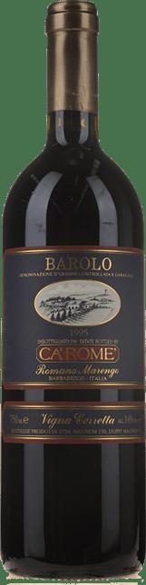 CA ROME Romano Marengo Vigna Cerretta, Barolo 1995