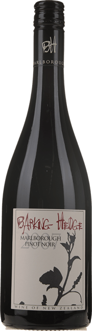 CRIGHTON ESTATE Barking Hedge Pinot Noir, Marlborough 2007