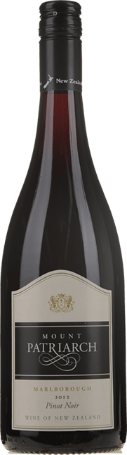 NAKED VINE WINE COMPANY Mount Patriarch Pinot Noir, Marlborough 2012