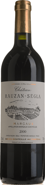 CHATEAU RAUSAN-SEGLA 2me cru classe, Margaux 2000
