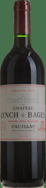 CHATEAU LYNCH-BAGES 5me cru classe, Pauillac 1996