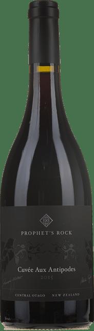PROPHET'S ROCK WINES Cuvee aux Antipodes Pinot Noir, Central Otago 2015