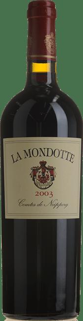 LA MONDOTTE 1er grand cru classe (B), St-Emilion 2003