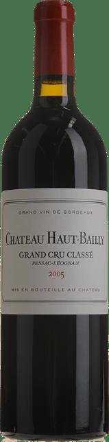 CHATEAU HAUT-BAILLY Grand cru classe, Pessac-Leognan 2005