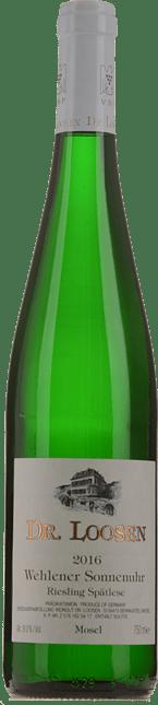 DR LOOSEN Wehlener Sonnenuhr Riesling-Spatlese, Mosel-Saar-Ruwer 2016