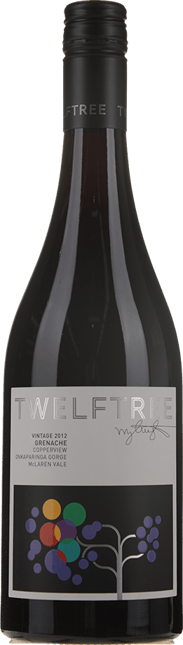 TWELFTREE WINES Copperview Grenache, McLaren Vale 2012