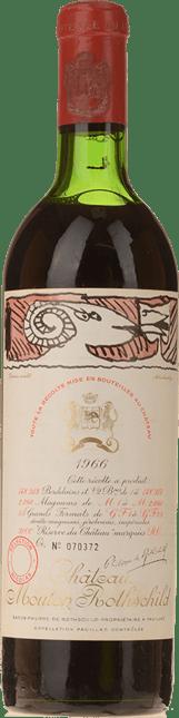 CHATEAU MOUTON-ROTHSCHILD 1er cru classe, Pauillac 1966
