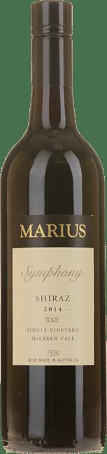 MARIUS WINES Symphony Single Vineyard Shiraz, McLaren Vale 2014