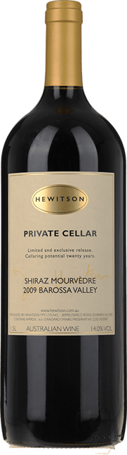 HEWITSON Private Cellar Shiraz Mourvedre, Barossa Valley 2009